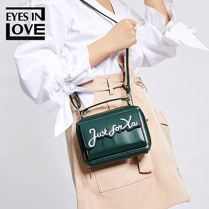 Сумка женская Eyes in Love Green, фото 2