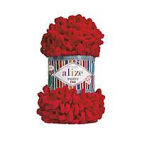 Alize Puffy Fine красный №56