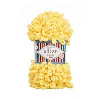 Alize Puffy Fine светло-желтый №113