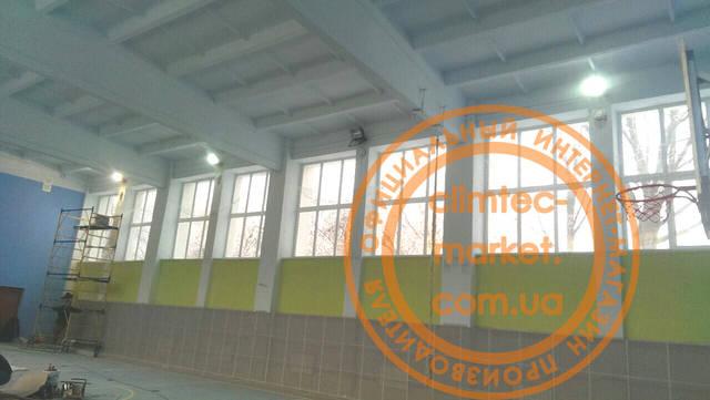 Вентиляция школьного спортзала -1