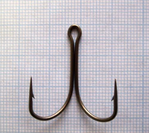 Гачок подвійний тип V 10-1,2-25, 400шт