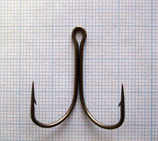 Крючок двойной тип V 10-1,2-25, 400шт