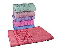 Набор махровых полотенец для лица 50х90 6шт  ТТ3003