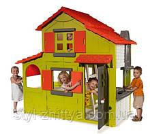 Двоярусний великий садовий дитячий будиночок