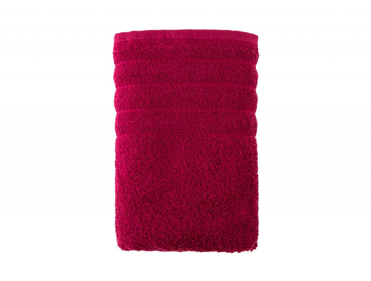 Полотенце махровое Alexa 30х50 Irya Бордовый