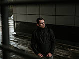 Мужской весенний Анорак Intruder Hypnotic, черный мужской анорак, фото 3