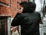 Мужской весенний Анорак Intruder Hypnotic, черный мужской анорак, фото 4