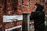 Мужской весенний Анорак Intruder Hypnotic, черный мужской анорак, фото 7