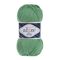 Alize Diva Plus ярко-оливковый № 255