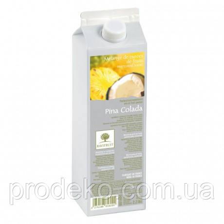 Пюре из кокоса и ананаса RAVIFRUIT PINA COLADA в тетрапаке 1кг