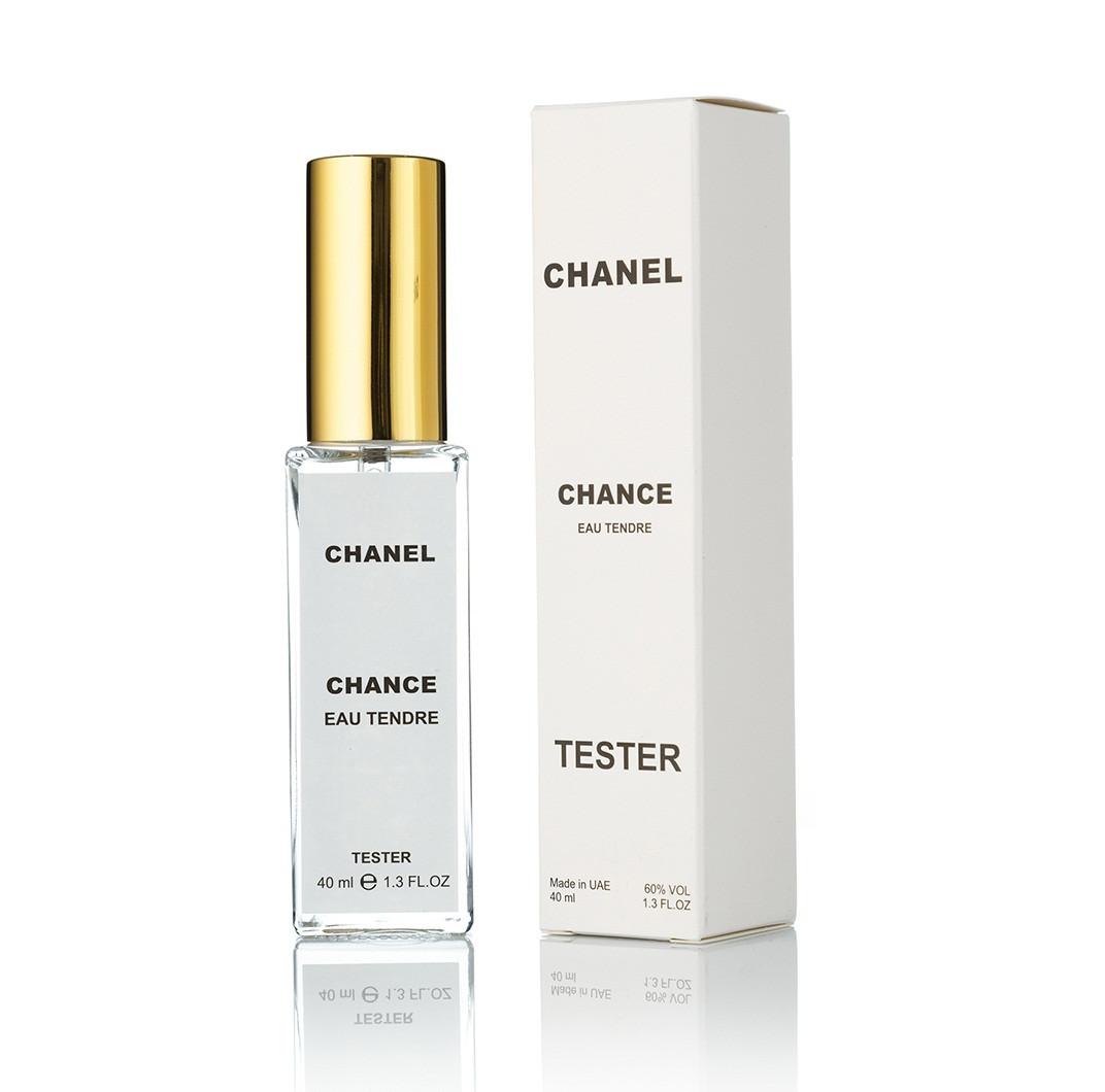 Женский мини-парфюм тестер Chance Eau Tendre - 40 мл