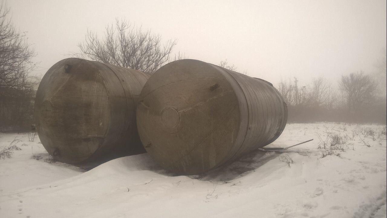 Емкость нж нержавеющая цистерна  50 м куб с рубашкой , А9-КЕН-50
