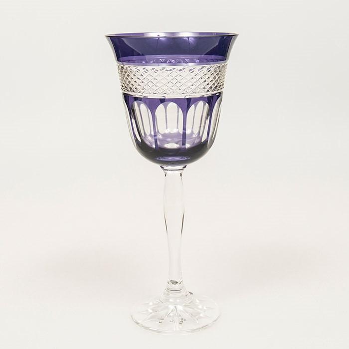 Набор бокалов для вина (фиолетовые, 250 мл/6шт.) Julia FV9452