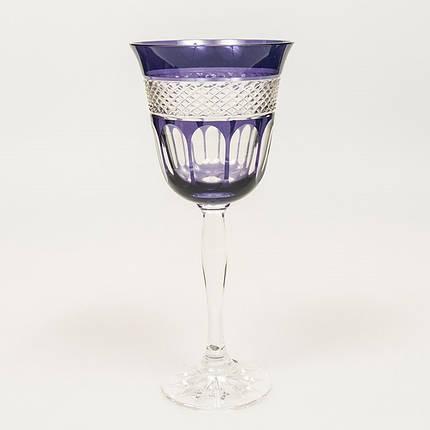 Набор бокалов для вина (фиолетовые, 250 мл/6шт.) Julia FV9452, фото 2