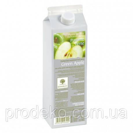 Пюре из зеленых яблок RAVIFRUIT GREEN APPLE в тетрапаке 1кг