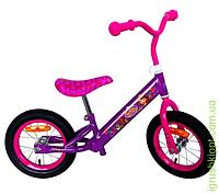 Велобег стальная рама, катафоты, колеса 12''