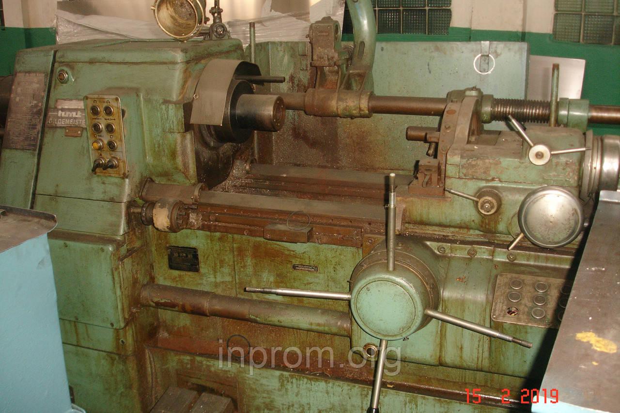 Токарно-револьверный автомат прутковый GILDEMEISTER R.T.V. 50