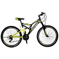 """Надежный двухподвестный велосипед 26"""" Titan GHOST, фото 1"""