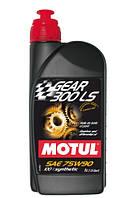 Трансмиссионное масло для МКПП и мостов синтетика Motul Gear 300 LS 75W90 (1л)