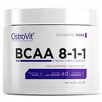 Амінокислоти OstroVit BCAA 8-1-1 200 g (апельсин, лимон, чисті)