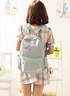 Стильный рюкзак. Городской рюкзак. Рюкзак женский.  Практичный рюкзаки.Код: КРСК43, фото 1