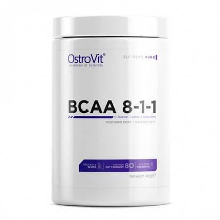 Амінокислоти OstroVit BCAA 8-1-1 400 г, фото 2