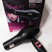 Фен для волос Brown BR-2288 мощный фен 3000 вт для домашнего использования