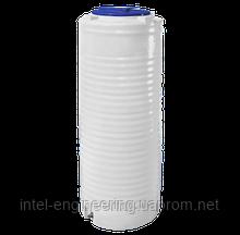 Ёмкость полиэтиленовая вертикальная однослойная узкая 300 литров