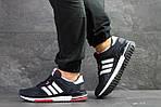 Мужские кроссовки Adidas ZX 700 (Темно-синие с белым), фото 3