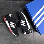 Мужские кроссовки Adidas ZX 700 (Темно-синие с белым), фото 6