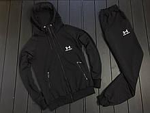 Мужской весенний спортивный костюм Under Armour (black), черный спортивный костюм Under Armour