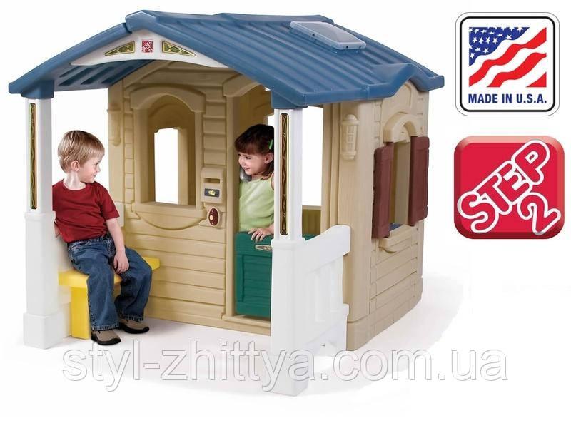 Дитячий будиночок з верандою Step 2