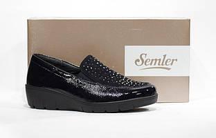 Шикарные кожаные туфли Semler, Германия-Оригинал