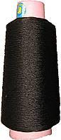 Нитка п/п Конус чорна, 350 г, 375 текс, фото 1