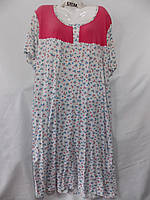 Женская котоновая ночная рубашка Батал (р-ры 58-66) оптом со склада в Одессе.