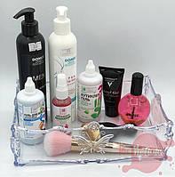 Пластиковый органайзер-подставка для косметики, аксессуаров, фото 1
