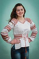 Вышиванка женская с поясом | Вишиванка жіноча з поясом, фото 1