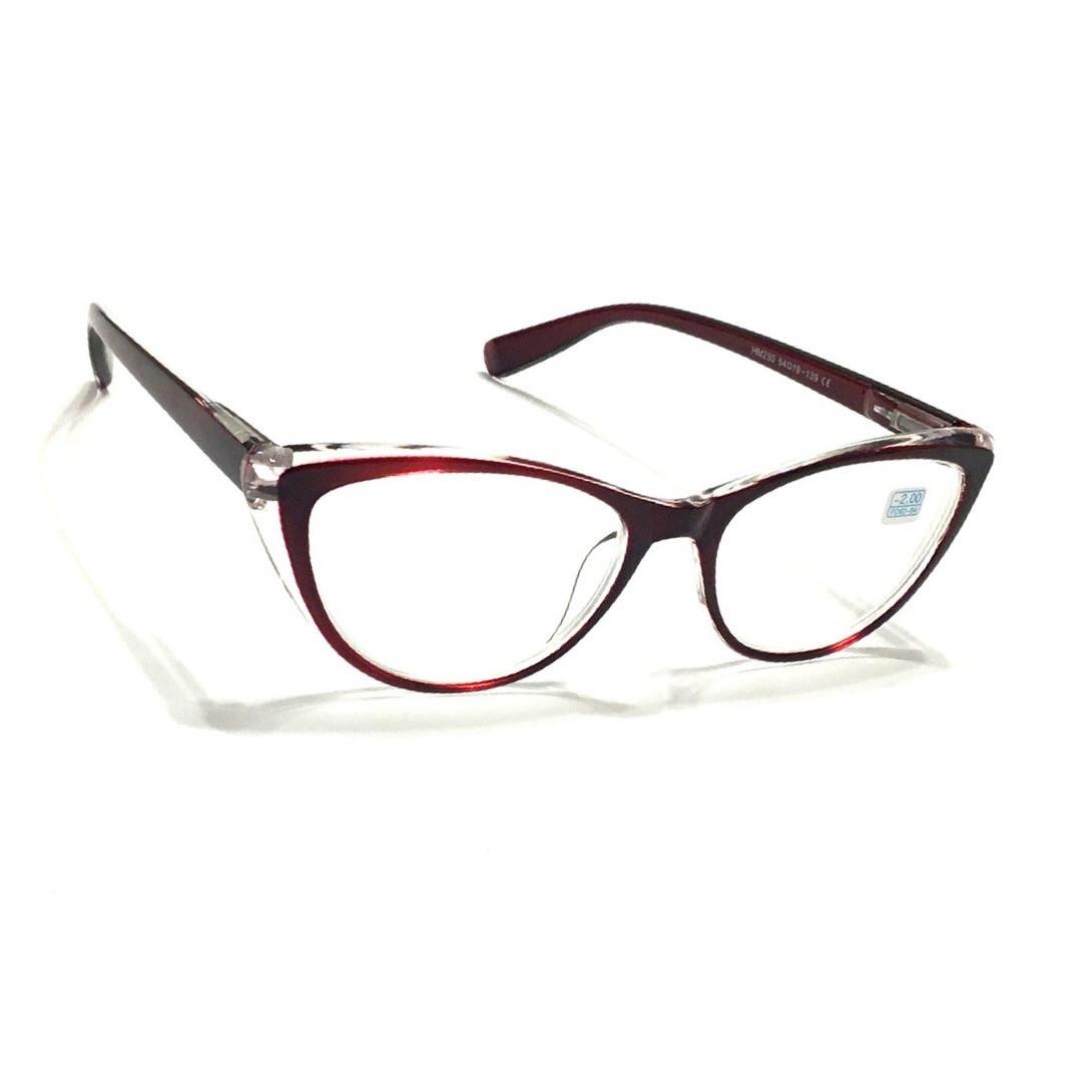 Жіночі окуляри в пластиковій оправі