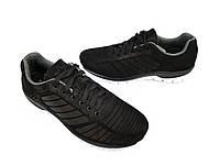 Кросівки чоловічі шкіряні демісезонні чорні 45 розмір Мида 110936