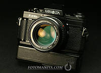 Minolta X-370s  Minolta MC Rokkor-X 50mm f1,4 + Minolta winder G , фото 1