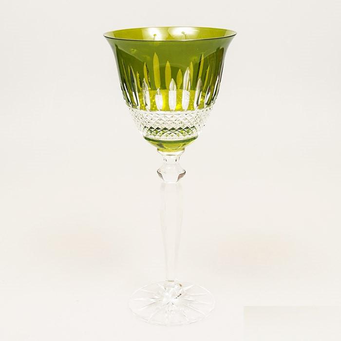 Набор бокалов для вина (зеленые, 220 мл/6шт.) Julia FV4922