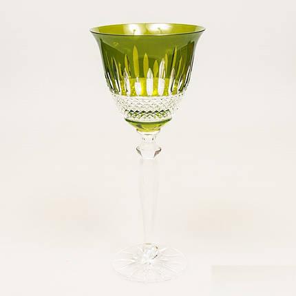Набор бокалов для вина (зеленые, 220 мл/6шт.) Julia FV4922, фото 2