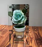 Композиция декоративная Цветок стекло 5939