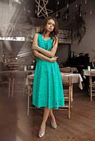 Летнее платье миди в расцветках 01256, фото 1