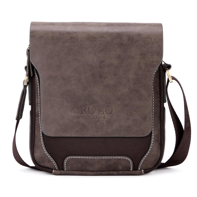 de484eb36520 Мужская сумка Polo Vicuna коричневая (8803-1-BR): продажа, цена в ...