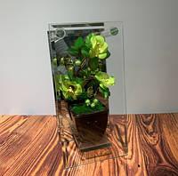 Композиция декоративная Цветок стекло 6680