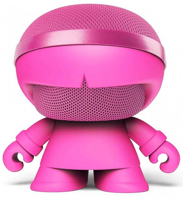 Акустика Xoopar - Xboy Glow (12 см, розовая, Bluetooth, стерео, с MP3-проигрывателем с SD-карты)