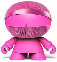 Акустика Xoopar - Xboy Glow (12 см, розовая, Bluetooth, стерео, с MP3-проигрывателем с SD-карты), фото 1