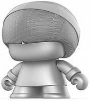 Акустика Xoopar - Grand Xboy (20 см, срібляста, Bluetooth, стерео)