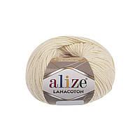Alize Lanacoton кремовый № 01
